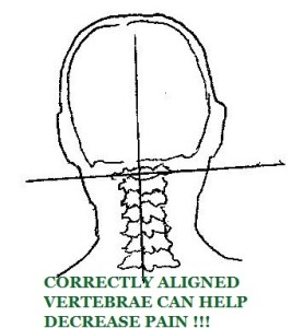 Stewart Chiropractic Clinic can help relieve pain by aligning vertebrae.